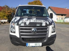 VW CRAFTER 2,5 TDI